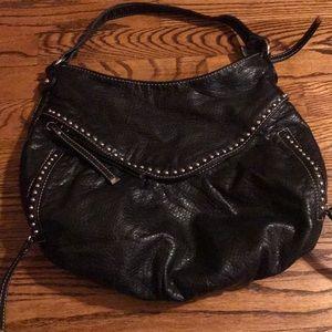 Black leather purse - Marc Ecko